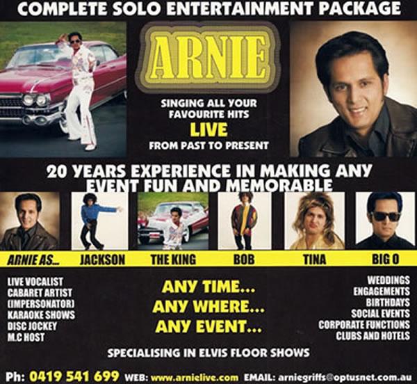 Sponsor - Arnie