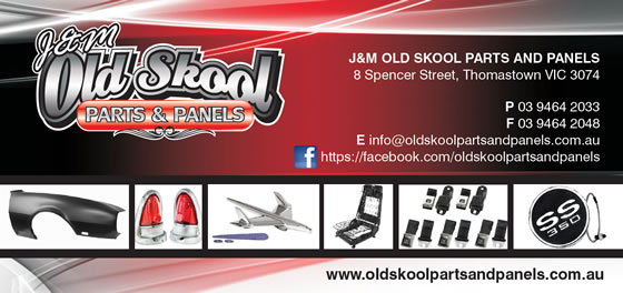 Sponsor - J & M Old Skool